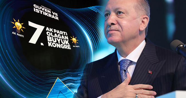 AK Parti'nin 7. Olağan Büyük Kongresi
