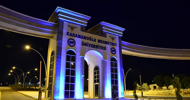 Karamanoğlu Mehmetbey Üniversitesi kaldırım, refüj ve yol aydınlatma işleri yaptırılacak