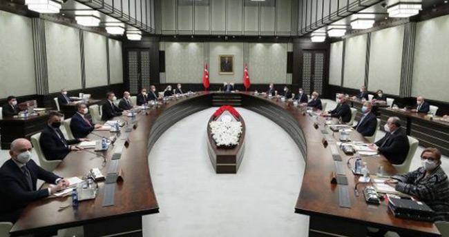 Kabine Toplantısı sona erdi. Cumhurbaşkanı Erdoğan açıklama yaptı