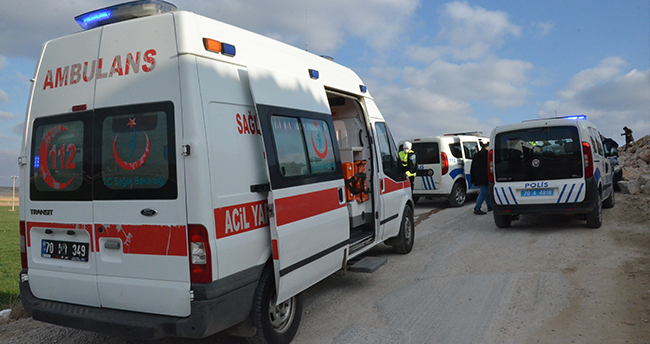 Karaman'da 2 kişiyi silahla yaralayan şüpheliler polisin takibiyle yakalandı