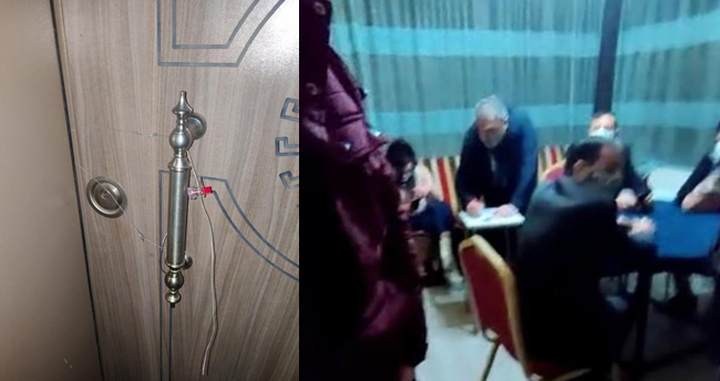 Konya'da apartman dairesinden bozma kahvehanede yine polise yakalandılar