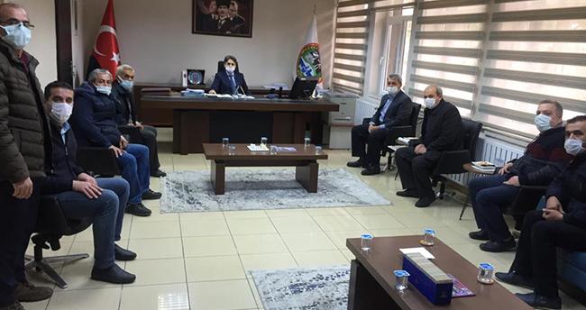 Seydişehir esnafından Kaymakam Aydın Erdoğan'a ziyaret