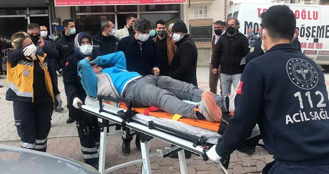 Konya'da evlenmek istediği kız verilmeyince hem kendini hem kızın dedesini vurdu