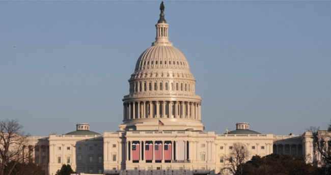 ABD Kongresi yerleşkesinde alarm! Tüm giriş ve çıkışlar kapatıldı