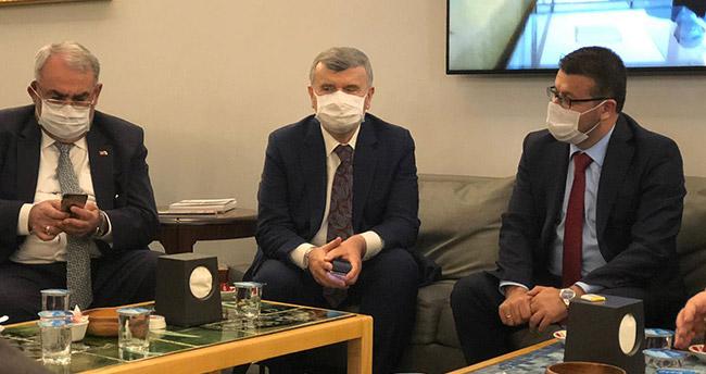 Karapınar heyeti, AK Parti Konya milletvekillerini ziyaret etti
