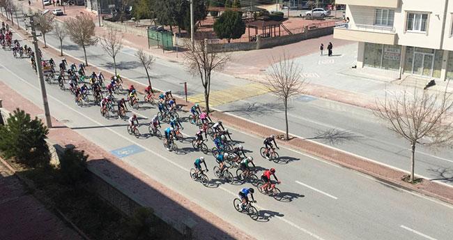 26. Uluslararası Mevlana Bisiklet Turu'nun üçüncü etabı tamamlandı