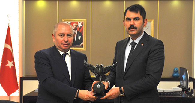 Konyaspor'dan Bakan Kurum'a destek