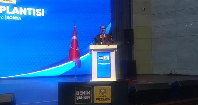 Konya Büyükşehir Belediye Başkanı Altay, belediyenin yatırımlarını anlattı
