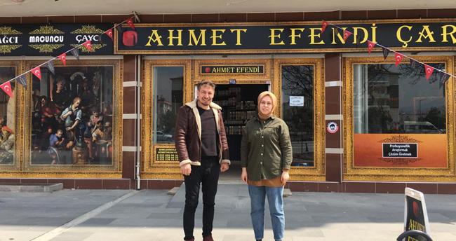 Ahmet Efendi yeni şubesini açtı