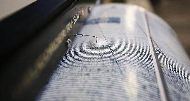 Ege Denizi'nde 4,4 büyüklüğünde deprem